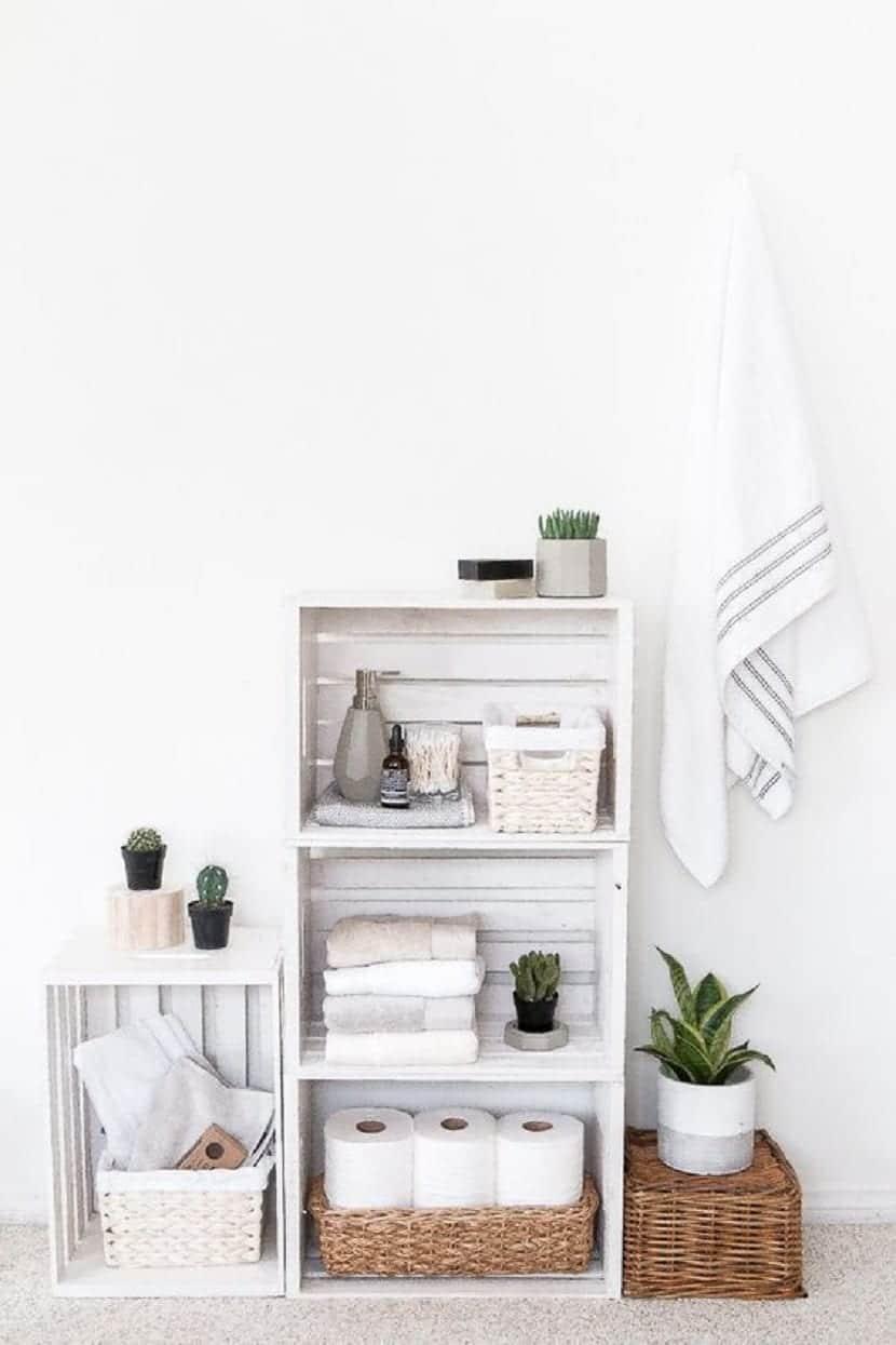 Cajas de almacenamiento para el baño