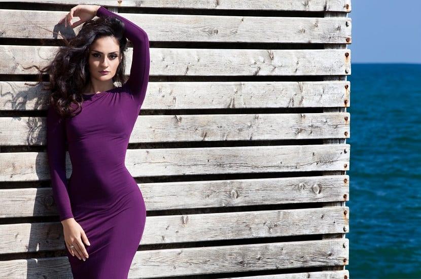 Combinaciones del color púrpura