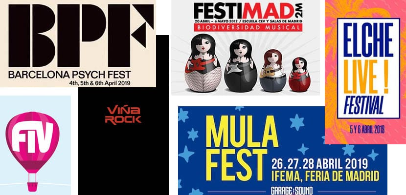 Festivales de musica en abril