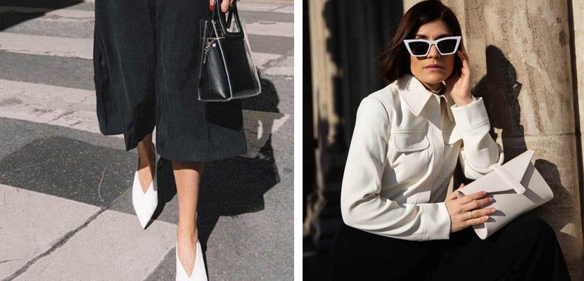 Looks en blanco y negro