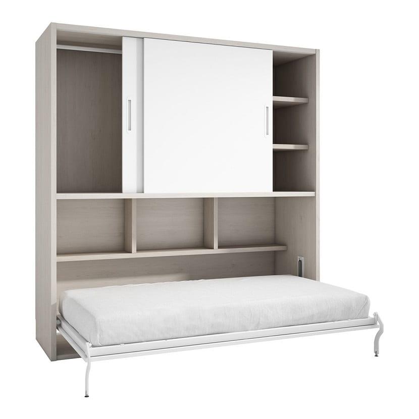 Mueble abatible con cama