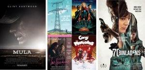 Películas, próximos estrenos