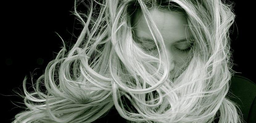 Tinte en el cabello