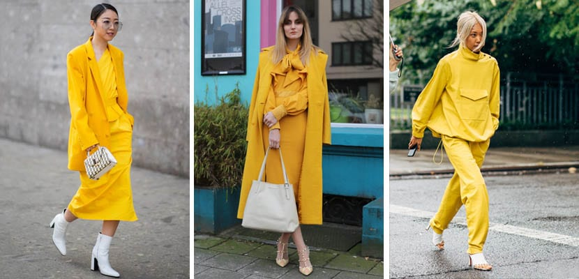Total look amarillo