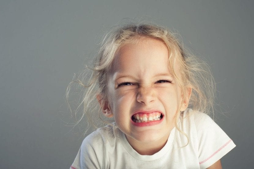 bruxismo en una nena