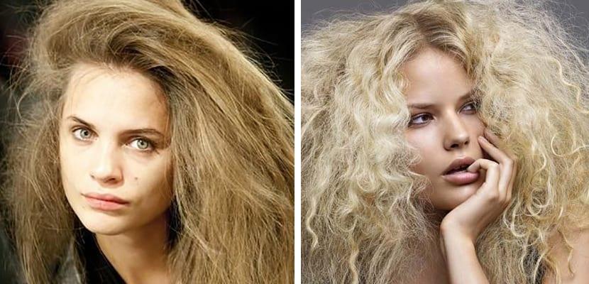 Cardado en el pelo