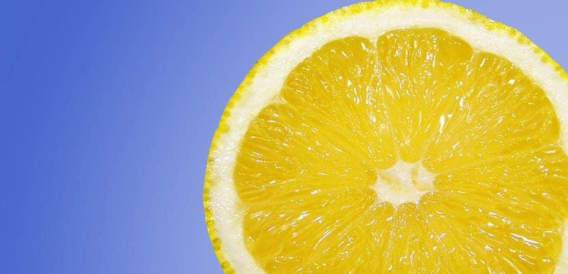 Decolorar el vello con limón