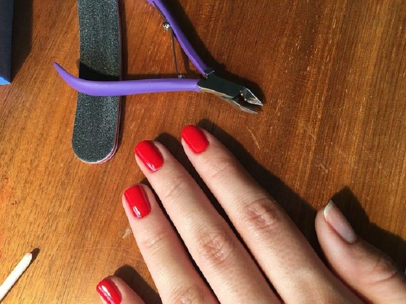 Pasos para limar las uñas