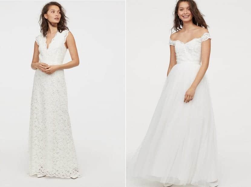 Vestidos colección nupcial HM