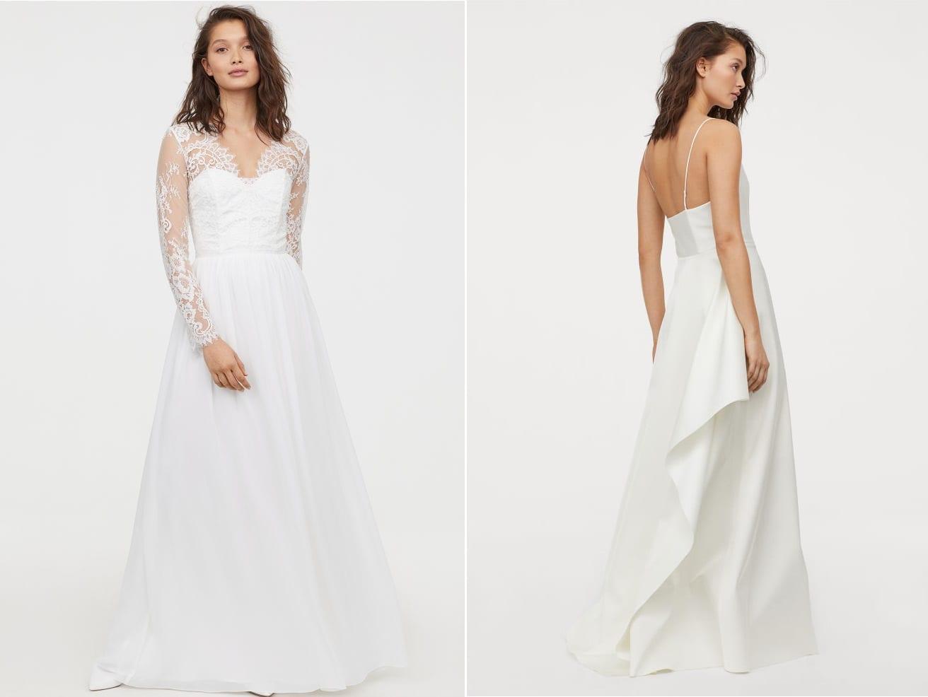 Vestidos low-cost para novias