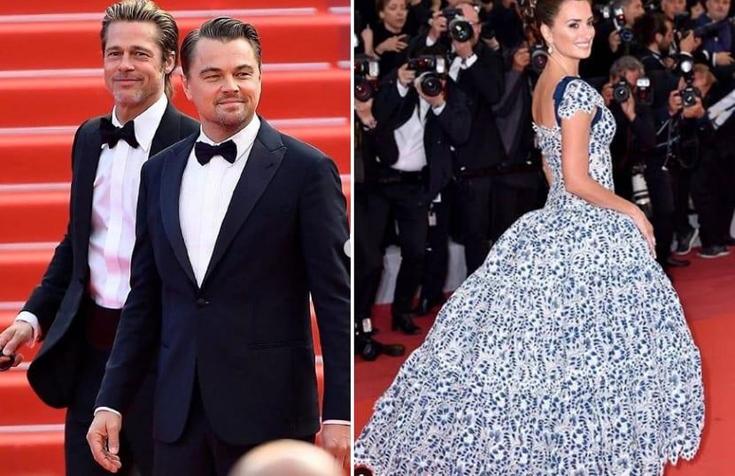 Bad Pitt, Leonardo DiCaprio y Penélope Cruz