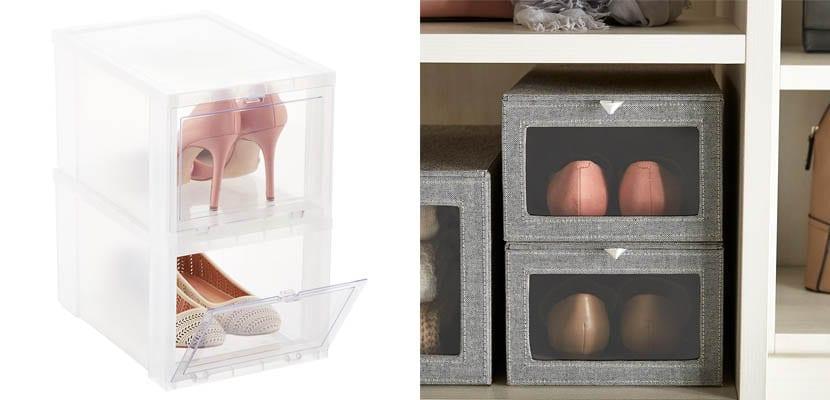 Cajas para los zapatos