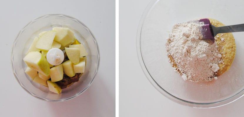 Galletas de manzana y jengibre