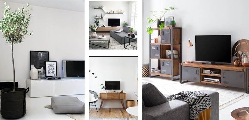 Muebles bajos de televisión