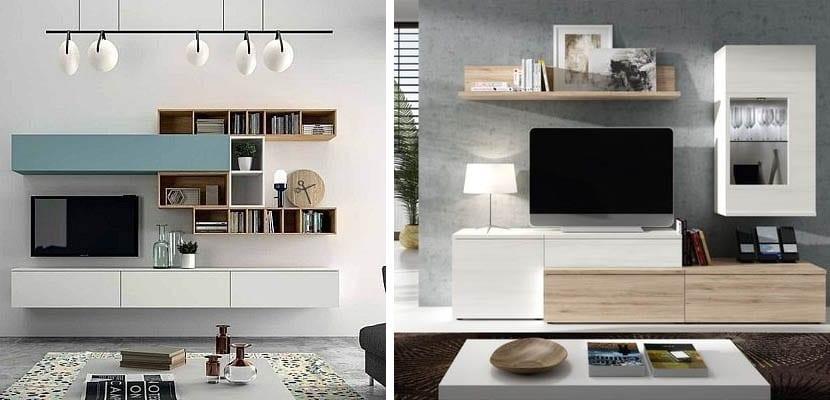 Muebles para TV modulares