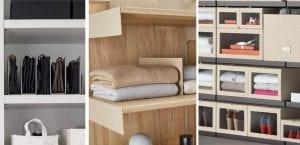 Organizar armario ropero