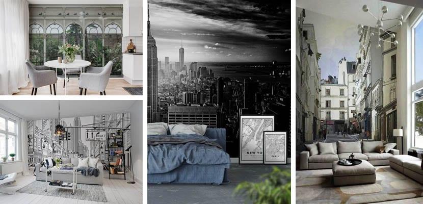 Murales de paisajes urbanos