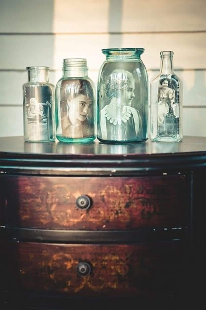 Botellas con fotos