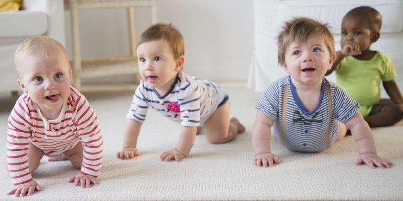 fuerza motriz en los bebes