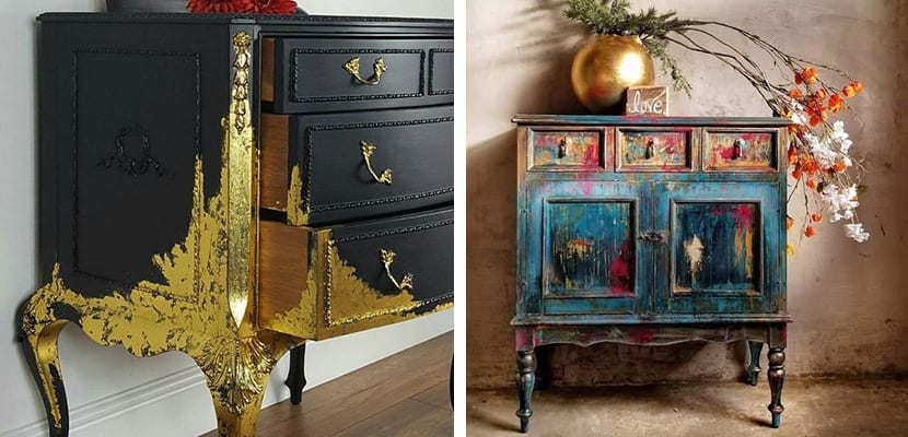 Renovar muebles antiguos