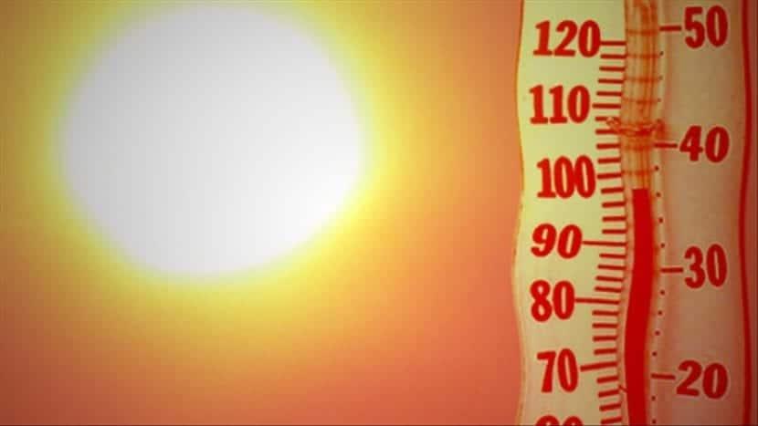 ola de calor en verano