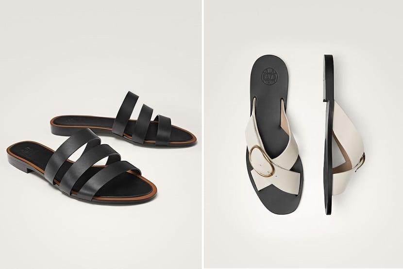 sandalias colores básicos