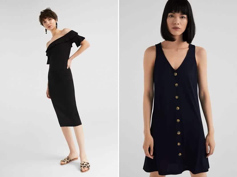 vestidos cortos springfield