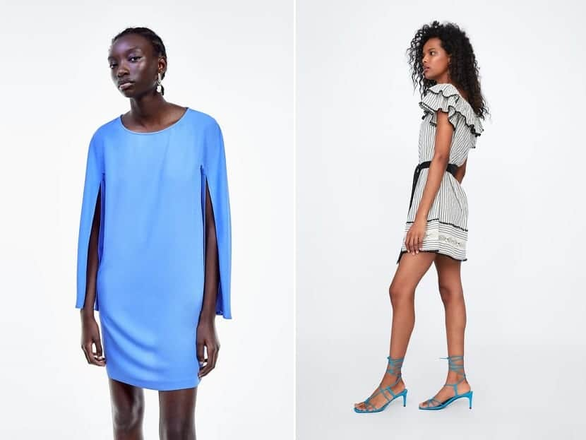 Vestidos cortos de tendencia