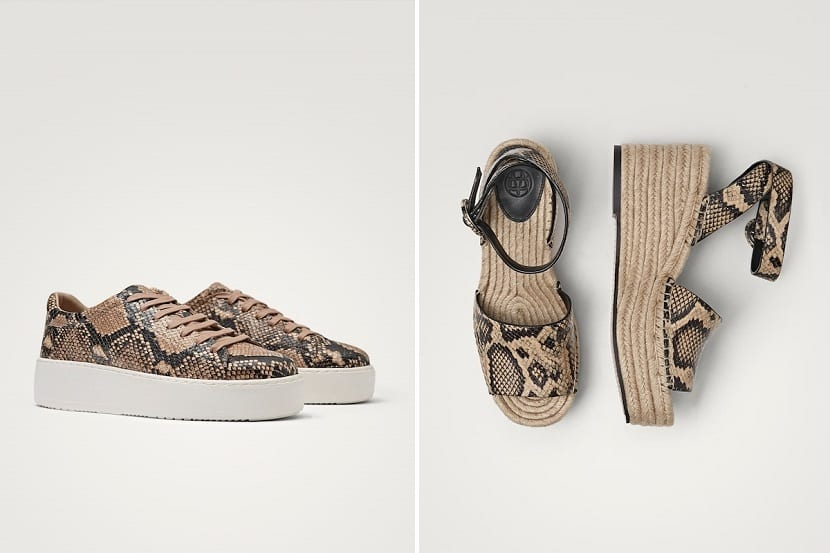 plataforma en zapatos