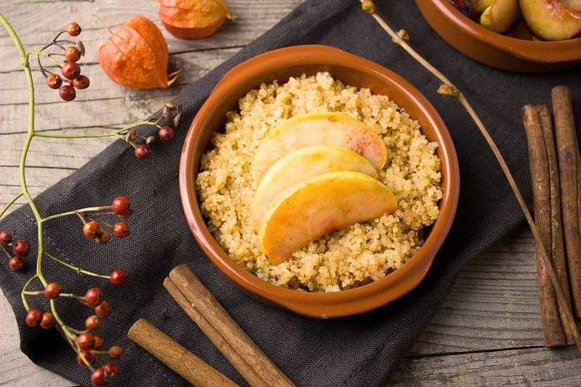 lavar la quinoa