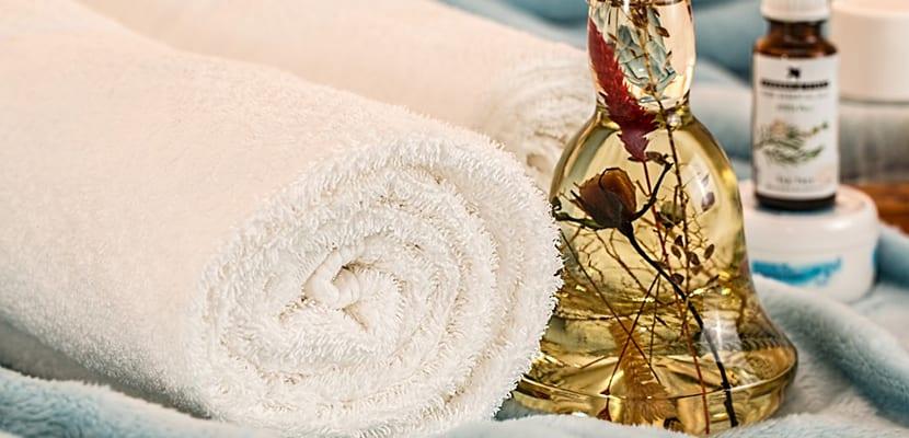 Materiales para el masaje