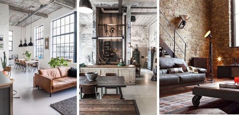 Mobiliario loft industrial