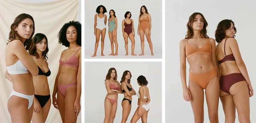 Colección de lencería de Nude
