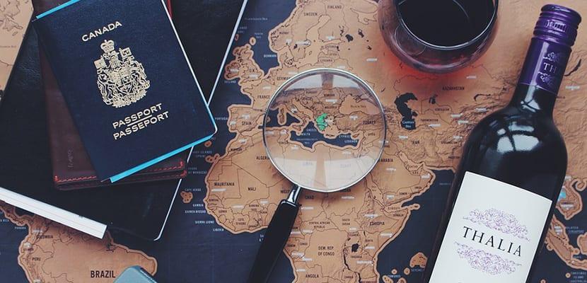 Organizar un viaje