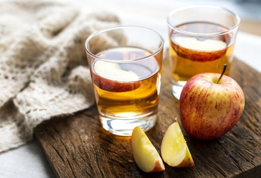 Vinagre de manzana para las verrugas