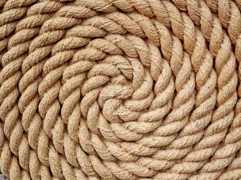 Decorar con cuerdas