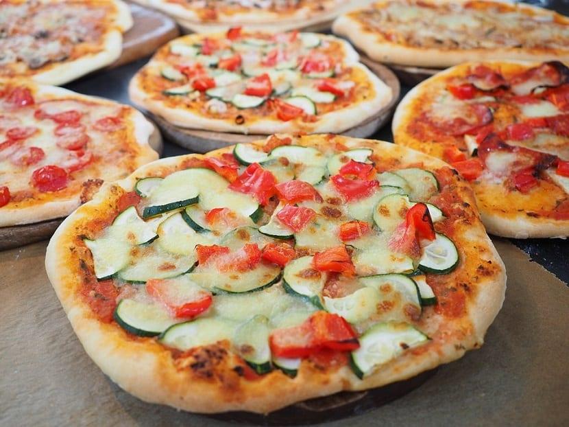 Pizzas comida rápida