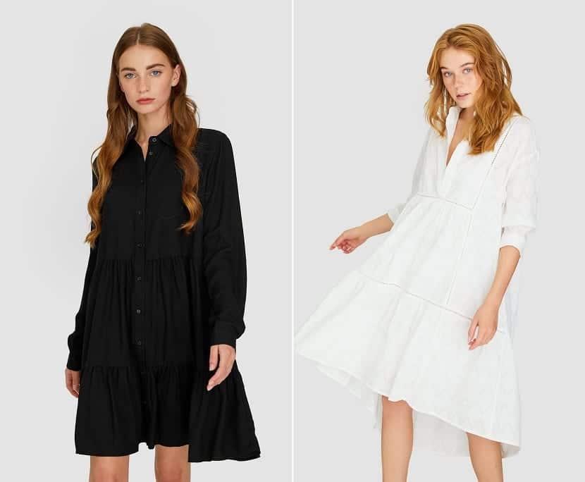 vestidos camiseros
