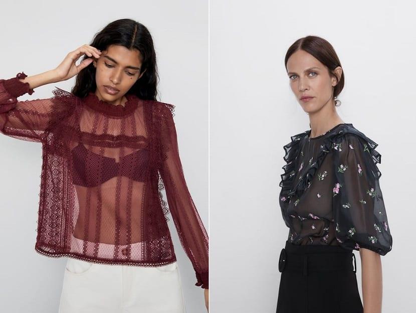 sitio de buena reputación 34087 4d9f0 Blusa transparente - Ideas para combinar esta prenda de moda