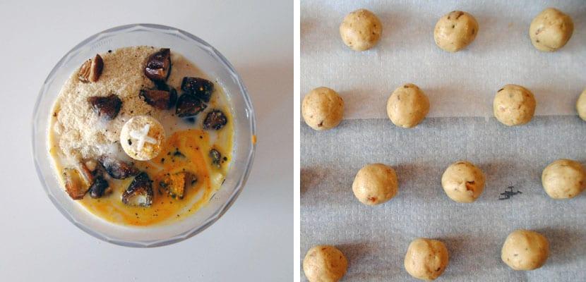 Galletas de almandra y mermelada de albaricoque