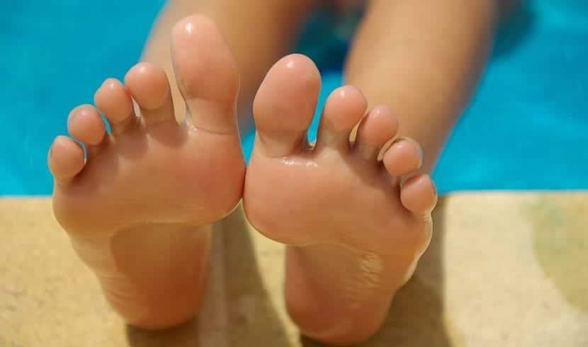 mal olor de los pies