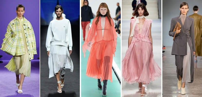 MFW: Faldas plisadas