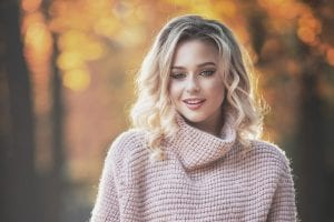 pelo en otoño