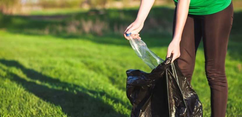 Recoger basura