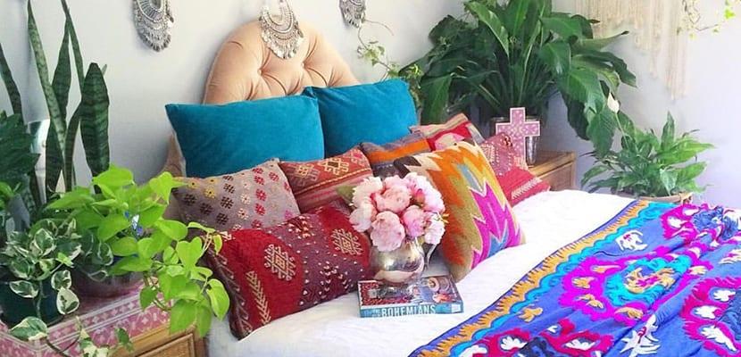 Textiles coloridos