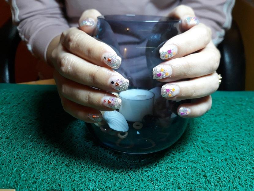 Limar uñas de gel