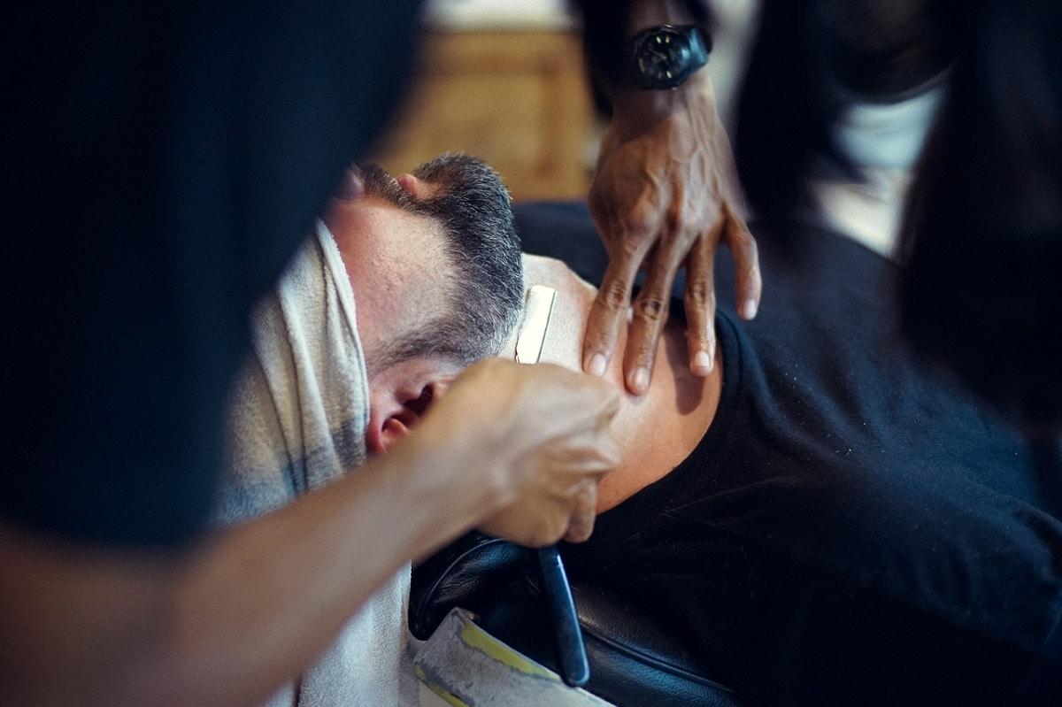 pasos para el afeitado