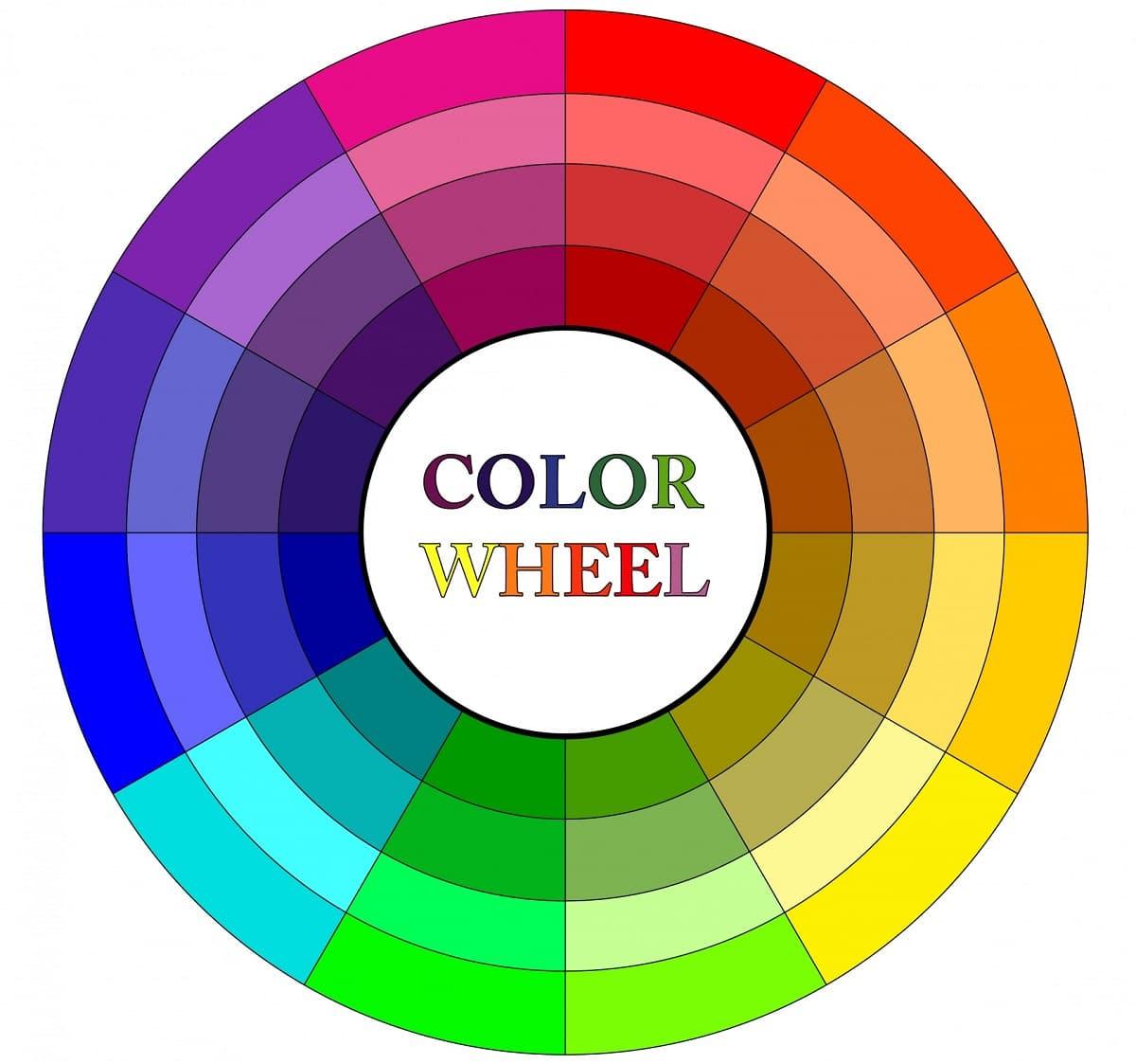 rueda combinar colores
