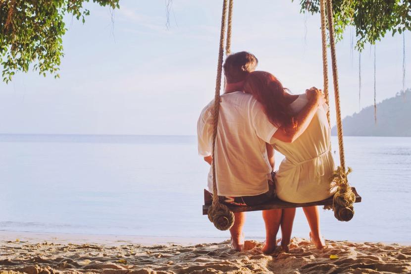 disfrutar de las vacaciones en pareja