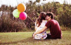 felicidad en el enamoramiento
